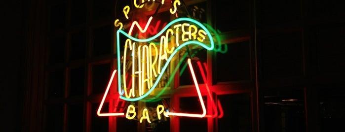 Character's Sports Bar is one of Posti che sono piaciuti a Travis.