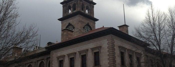 Colorado Springs Pioneers Museum is one of Colorado High.