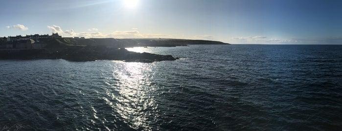Portsoy Harbour is one of Posti che sono piaciuti a Ryan.