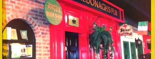 McDonagh's Pub is one of สถานที่ที่บันทึกไว้ของ Lizzie.