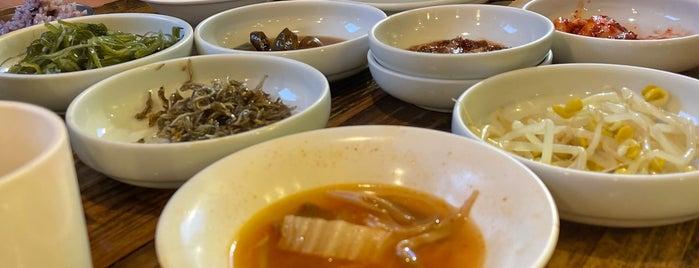 온마을 is one of Korean food.