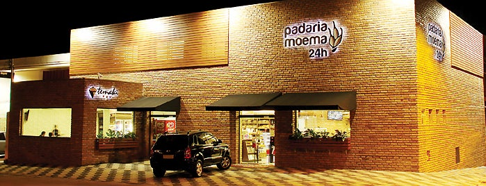 Padaria Moema 24h. is one of Comer na Madruga em SP.