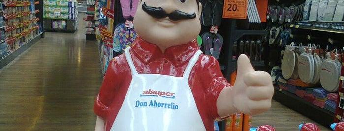 Alsuper store is one of สถานที่ที่ La Guía ถูกใจ.