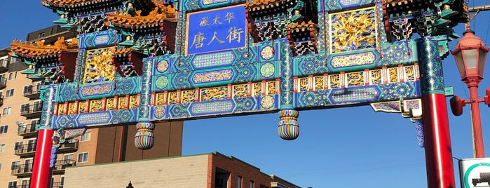 Chinatown is one of Ottawa.
