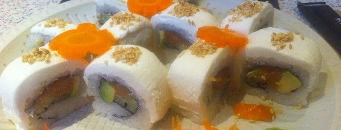 Mr. Sushi orangebamboo is one of Lugares favoritos de Jonathan Josue.