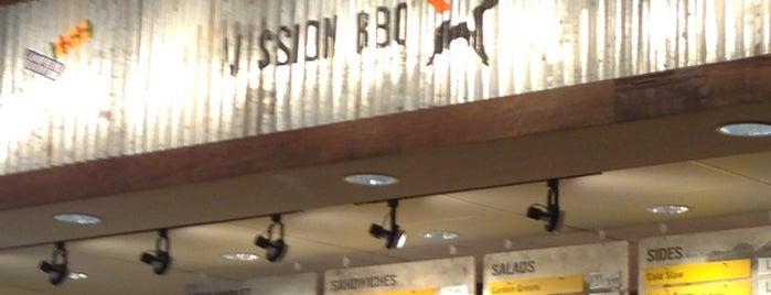 Mission BBQ is one of สถานที่ที่บันทึกไว้ของ Ridgely.