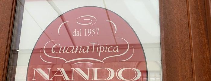 Osteria da Nando is one of Aosta.