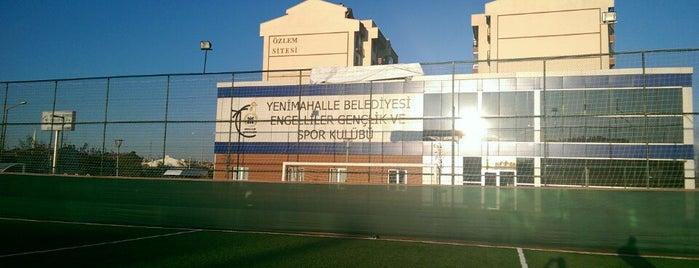 Yenimahalle Belediyesi Ampute Futbol Tesisleri is one of Ardaさんのお気に入りスポット.