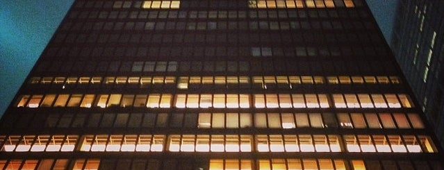 Seagram Building is one of Architecture - Great architectural experiences NYC.