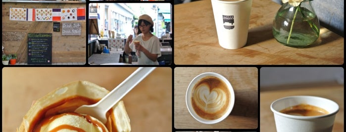 HONEYBEE CREPE tokyo is one of Posti che sono piaciuti a Nonono.