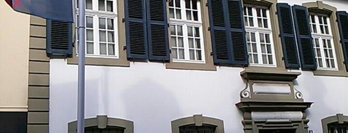 Karl-Marx-Haus is one of Around Rhineland-Palatinate.