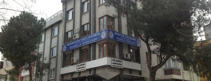 Mehmetçik Vakfı Sigorta - İstanbul Temsilciliği is one of Locais salvos de Yeşim.