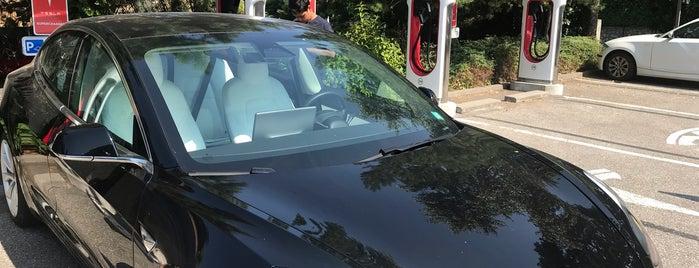 Tesla Supercharger Chambéry Barberaz is one of Tesla France CH B.