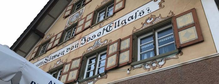 Gasthaus zum Löwen Eglofs is one of Gute Restaurants.
