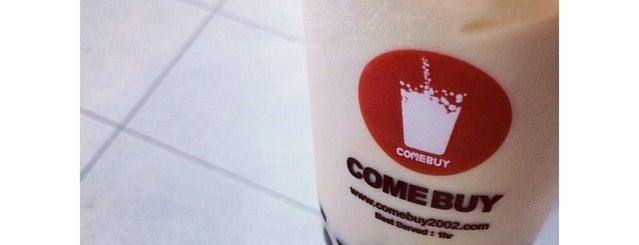 Come Buy Bubble Tea Cafe is one of Orte, die MrChingu gefallen.