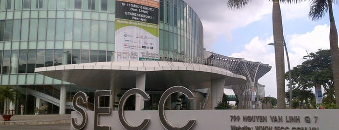 Saigon Exhibition and Convention Center - SECC is one of badger.