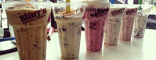 Starr's Famous Shakes is one of Justinさんの保存済みスポット.