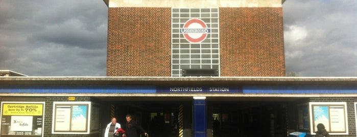 Northfields London Underground Station is one of Spring Famous London Story.
