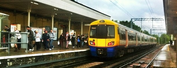 Acton Central London Overground Station is one of Spring Famous London Story.