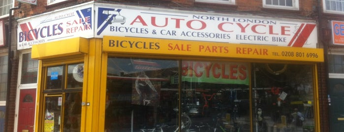 Auto Cycle is one of Spring Famous London Story.