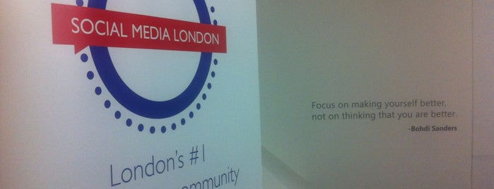 Social Media London is one of Spring Famous London Story.
