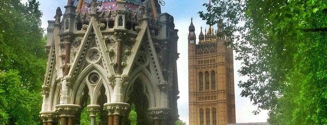 Victoria Tower Gardens is one of Spring Famous London Story.