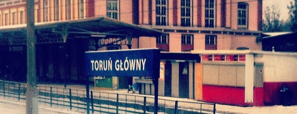 Toruń Główny is one of Torun.
