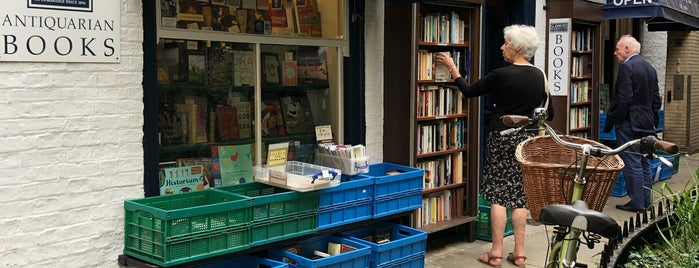G David Antiquarian Bookseller is one of 111 Cambridge places.