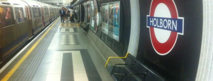 Holborn London Underground Station is one of Spring Famous London Story.