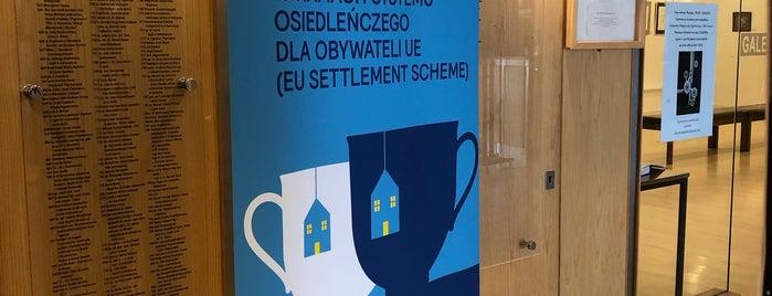 POSK Polski Ośrodek Społeczno-Kulturalny is one of London Stories.