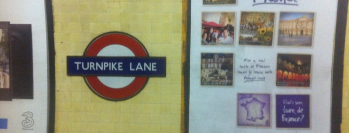 Turnpike Lane London Underground Station is one of Spring Famous London Story.