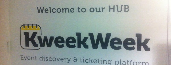 KweekWeek Hub is one of Spring Famous London Story.