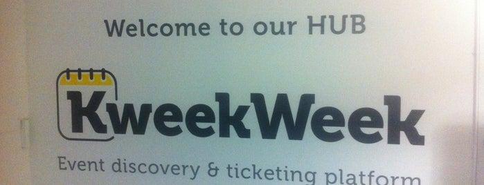 KweekWeek Hub is one of Spring Famous London Story.