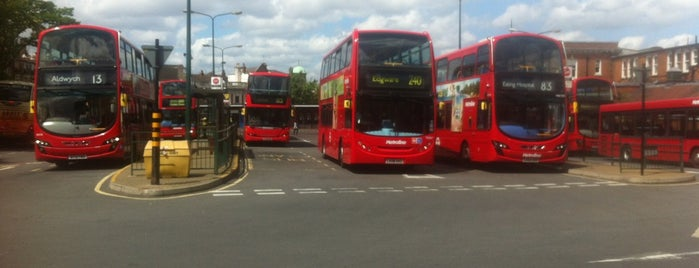Golders Green Bus Station is one of Spring Famous London Story.