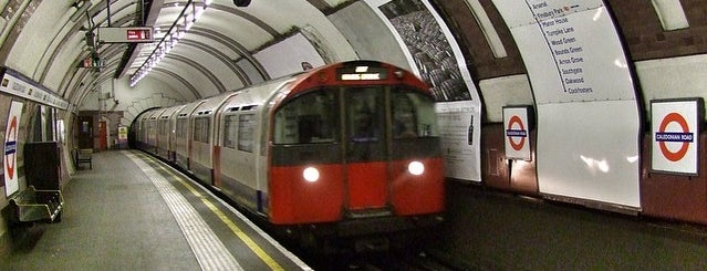 Caledonian Road London Underground Station is one of Spring Famous London Story.