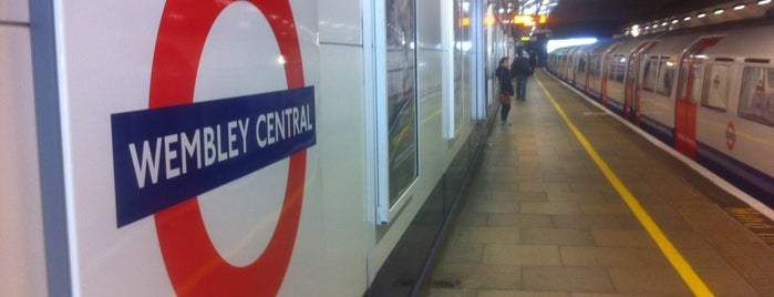 Wembley Central London Underground and London Overground Station is one of Spring Famous London Story.