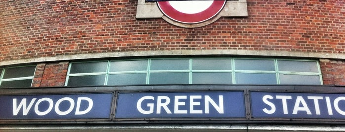 Wood Green London Underground Station is one of Spring Famous London Story.
