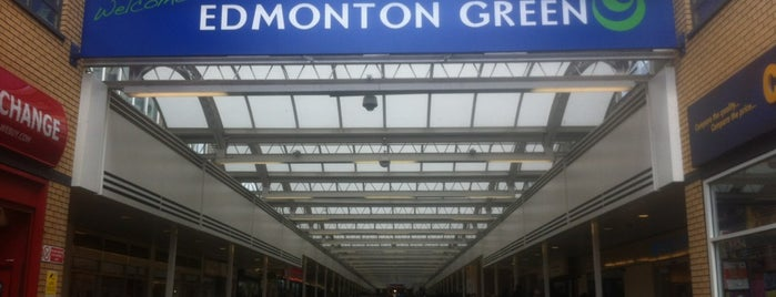 Edmonton Green Shopping Centre is one of Spring Famous London Story.