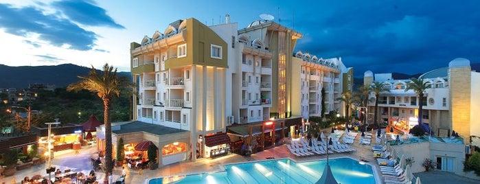 Grand Cettia Hotel Marmaris is one of สถานที่ที่ Cettia Hotels ถูกใจ.