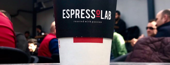 EspressoLab is one of Lieux qui ont plu à BuRcak.
