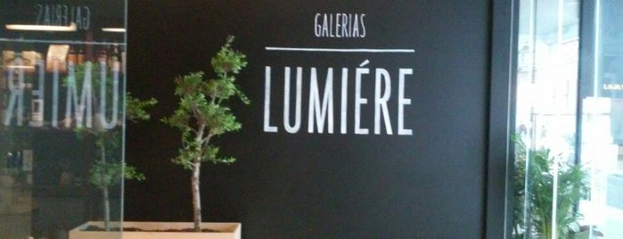 Galerias Lumiére is one of Snack.