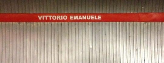 Metro Vittorio Emanuele (MA) is one of Rome.