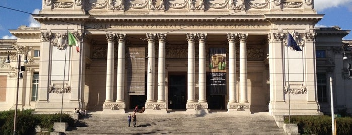 Galleria Nazionale d'Arte Moderna is one of Rome.