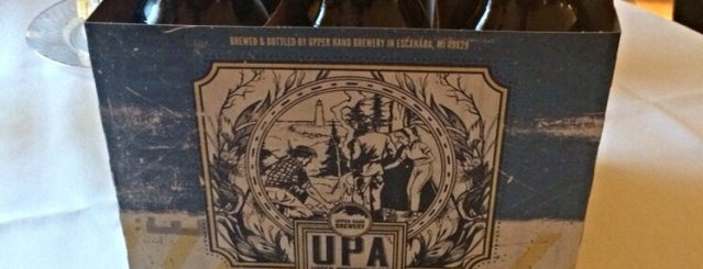 Upper Hand Brewery is one of Michigan Breweries.