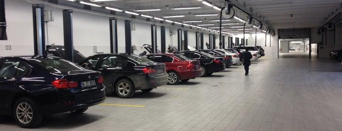 OTOMOL BMW Borusan Otomotiv Yetkili Servisi is one of Mujdat : понравившиеся места.