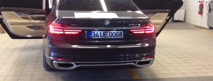 GERMAN BMW-MINI Borusan Otomotiv Yetkili Servisi is one of Lieux qui ont plu à Tughan.
