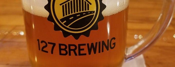 127 Brewing Company is one of สถานที่ที่ Joanna ถูกใจ.