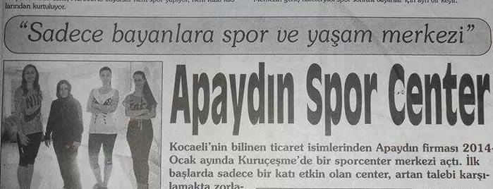 Apaydın Sport Center is one of Lugares favoritos de Fikriye.