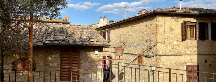 San Gimignano is one of Gespeicherte Orte von Pelin.