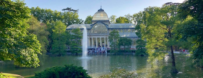 El huerto del Retiro is one of Madrid.